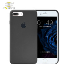 Latest design liquid silicone 3 in 1 cell phone cases for iphone 7 8 plus cases dust proof