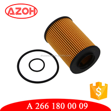 China golden supplier for car engine parts lube filter oil for generator Mer-cedes Ben-z OEM#A2661800009 BOS-CH 1 457 429 306