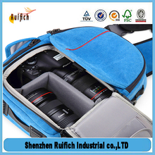 Hot selling camera assistant bag,waterproof sports neoprene camera case,3d camera bag