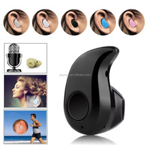 Mini invisible wireless S530 bluetooth headset 4.0 stereo earphone