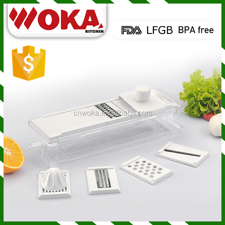 interchangeble food dicer vegetable and fruit cutting