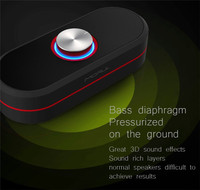 Mini Bluetooth Speaker MORUL H2 Speaker Portable wireless loudspeaker With stereo 3D surround sound system
