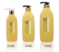 260ML, 500ML,780ML PET bottle with lotion pump