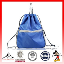 Wholesale Promotional Bag Nylon Durable Drawstring Backpack