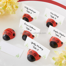 Wedding Table Decoration Cute as a Bug Ladybug Name Place Card Holder