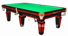 New 9ft National Chinese pool table red color