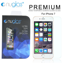 Wholesale Mobile Accessories Nuglas Brand Cell Phone Screen Protector for iPhone 7 Tempered Glass Screen Protector