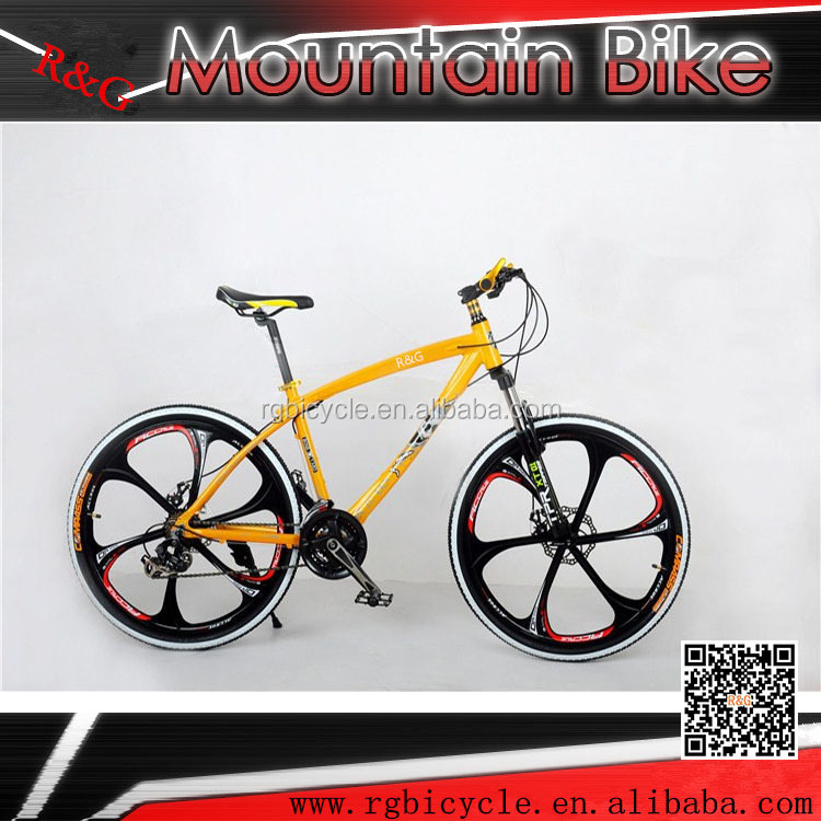 26 '' INTEGRATED WHEEL aluminum frame mountain bike