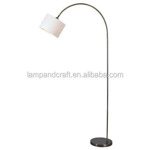 Ul round base iron arm floor lamp stand with lamp shade for home ul round base iron arm floor lamp stand with lamp shade for home hotel aloadofball Gallery