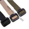 Military Tactical Nylon Webbing Belt Custom Canvas Belt with Utility Heavy Duty Buckle
