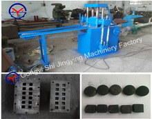 Tablet counting briquette manufacturing machine process to make bbq charcoal briquettes
