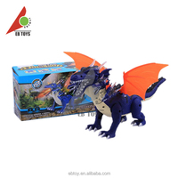 New design model 5 heads pterosaur light and sound moving animal toy for kids