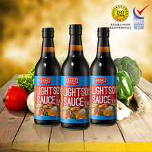 Chinese superior light soy sauce 500ml pet bottle