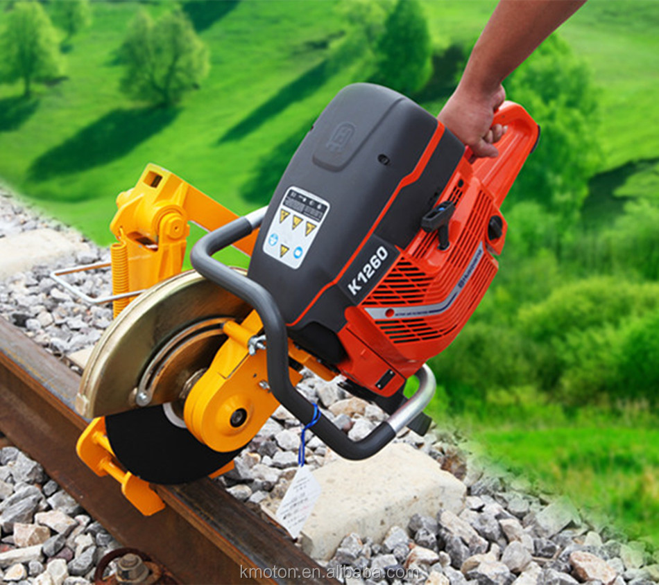 handheld electric cutting machine for rail track