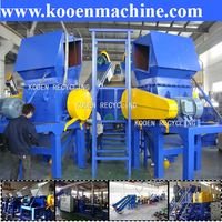 China company sale waste pp pe plastic film washing and recycling line