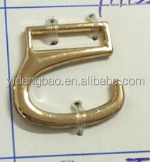 2017gold characteristic ally pin buckle logo decorative shoe buckle