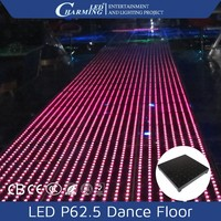 Stage light high quality 3D full color RGB floor light led strip lighting