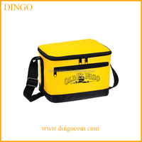 customized 600D disposable thermal insulated oxford polyester lunch cooler bag