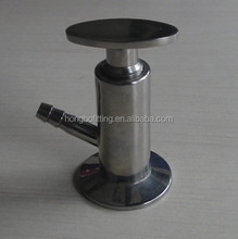 stainless steel sanitary sample valve
