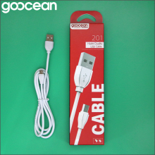 Goocean Hot sale factory direct price charge and sync data cable with cheap