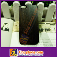 Chicken Wing Wood with pc bottom cell phone case for Iphone 5