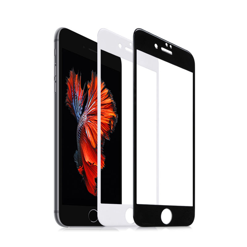 hot sale 3D full coverage tempered glass best screen protector for apple iphone 7 and 7 plus