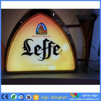 Pretty price tracing taxi top super slim led light box
