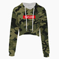 Ladies military camouflage sport clothing jacket