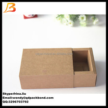 Beautiful decorative kraft paper box slide open box
