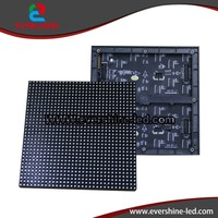 Indoor LED Air-Conditioner Display 192mm*192mm , 32*32 RGB LED Clock Module P6 for LED Business Signs