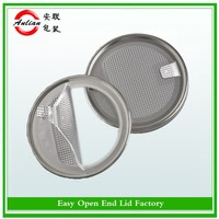 round small 307#83mm can lid 99mm milk powder milk peel off lid