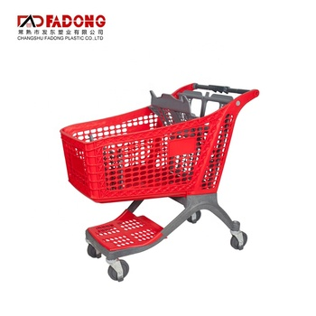Hand Basket Trolley Grocery Shopping Trolley Cart Plastic Basket Shopping Trolley