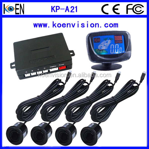 Parking Sensor For Toyota Camry With LCD Display Spare Tyre Learning Function