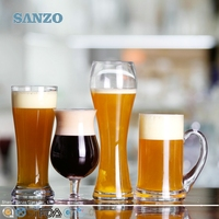 SANZO sex women body and muscle men body beer glass set of two