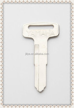 brass key door key fiat 500 transponder flip key shell audi