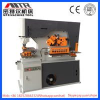 Q35y Series Hydraulic Iron Worker Cut