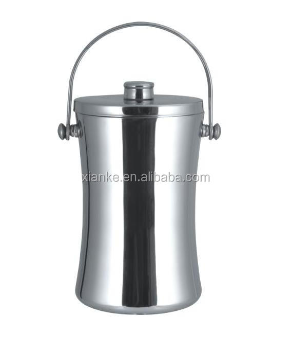 Low Price 2.0L Stainless Steel beer holder novelty ice bucket for Canada