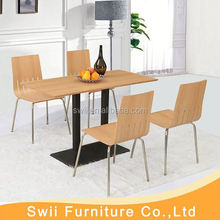 stainless steel restaurant dining table tables used wood furniture design in pakistan