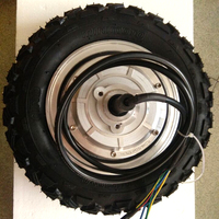 DC Brushless wheel 250W 500W 400W bldc electric hub motor