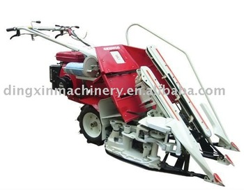 Baler Mini rice and wheat harvester