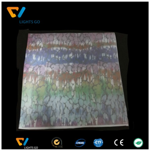 silver reflective raw material for sport shoes, reflective rainbow color PU leather