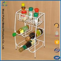 new style kitchen counter storage rack and rack