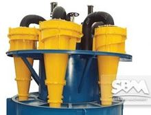 SBM hydrocyclone separators for ore processing