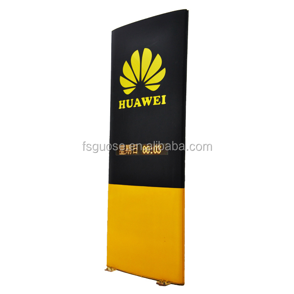 aluminum street lights digital price display board aluminum photo frame led screen standing outdoor light box