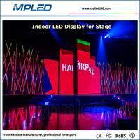 5mm indoor full color light cabinet led display for fairs