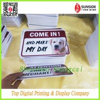 self adhesive mount pvc board/pvc foam core sheet with die cut shape