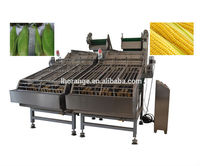 Newest fresh/sweet corn peeling/shelling machine/peeler and sheller machine with the factory price