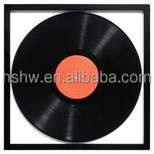 latest black vinyl record photo frames for gifts