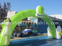 Customized inflatable arches for advertising