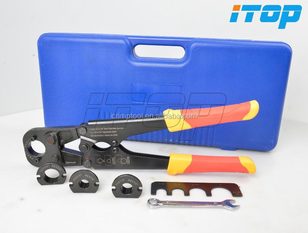 how to use pex plumbing tool